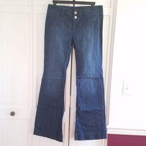 White House Black Market Trouser Leg Pants
